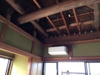 施工前の天井