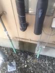配管から漏水