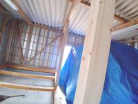 ③柱設置工事