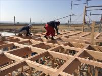 建て方工事(建前)①