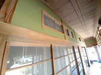 廊下塗り壁完工