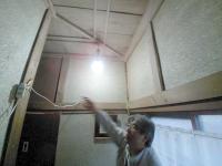 廊下塗り壁施工前