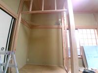 和室収納スペース造作