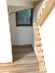 猫用階段施工