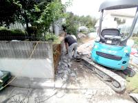 1.ブロック塀解体